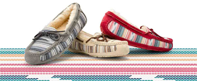 Striped Slipper at UGG