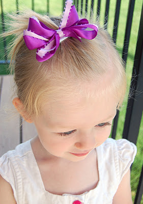 the audzipan anthology Simple Hairbow Tutorial