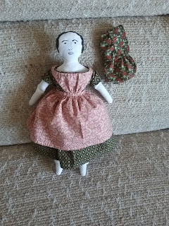 Sewing Academy 1850s/1860s Reproduction Cloth Girl Doll