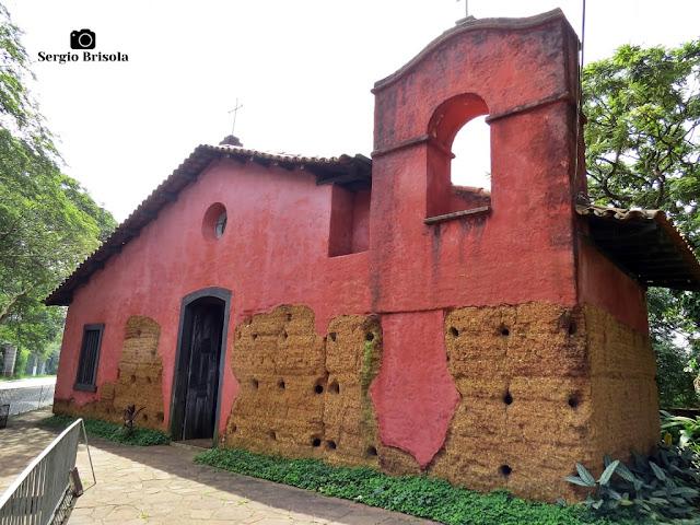 Vista da parte frontal da Capela do Morumbi - Morumbi - São Paulo