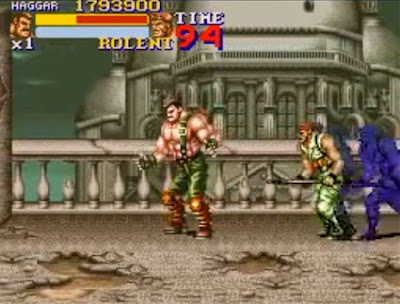 Final Fight 2: Haggar alla Salute