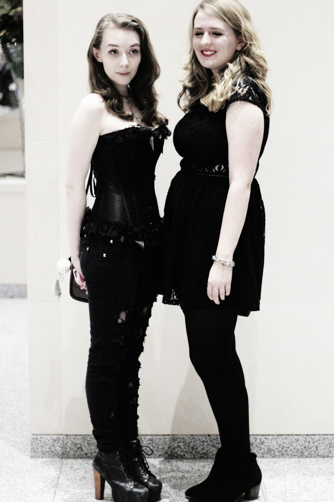 manchester fashion industry gothic romance party ootd