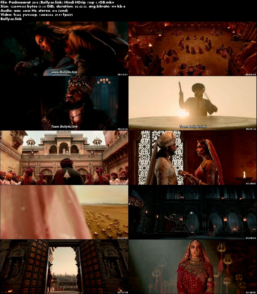 Padmaavat 2018 HDRip Full Hindi Movie Download 720p