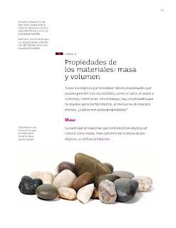 Apoyo Primaria Ciencias Naturales 3ro Grado Bloque III Tema 1 Propiedades de los materiales: masa y volumen