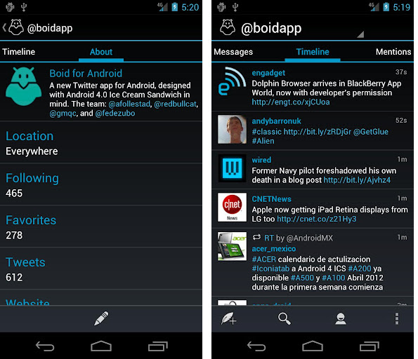 Top 10 Free Apps Designed for Android 4 0+ ICS