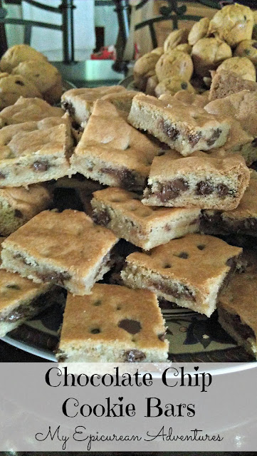 My Epicurean Adventures: Chocolate Chip Cookie Bars