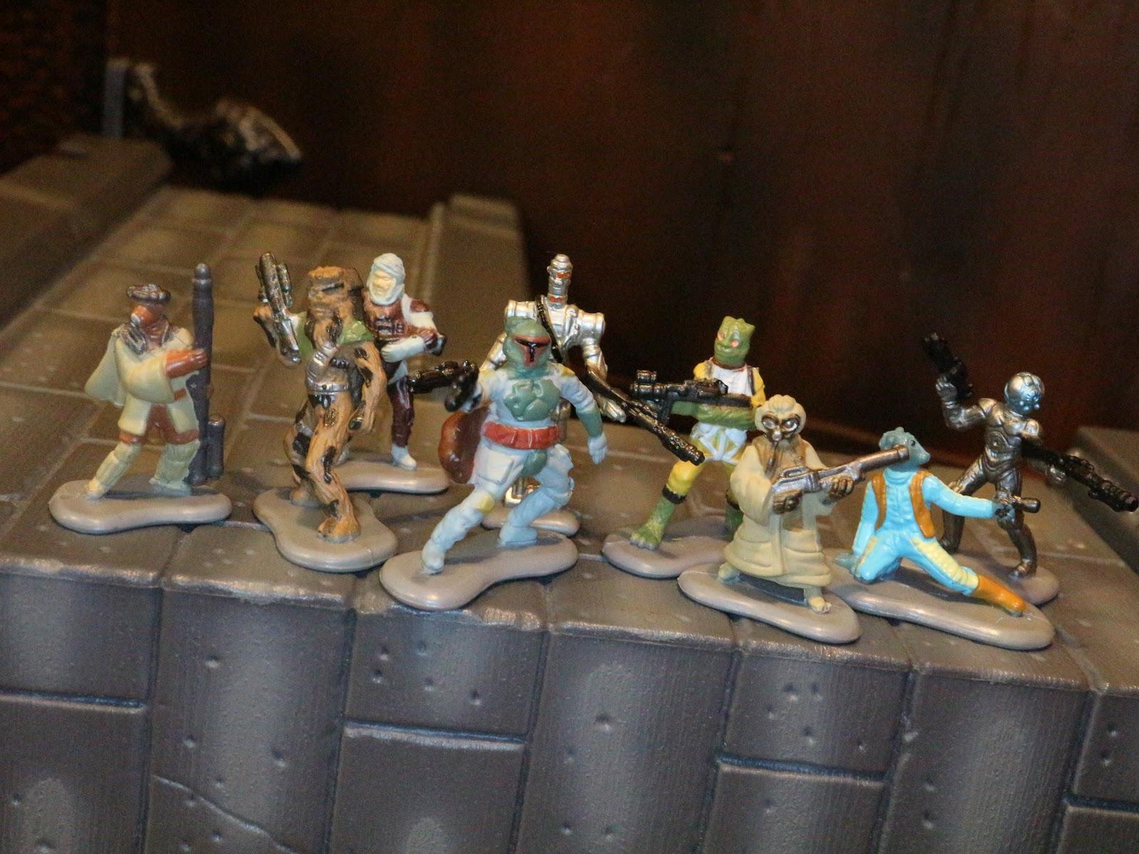 STAR WARS MICRO MACHINES FIGURE BOSSK BOUNTY HUNTER # 1