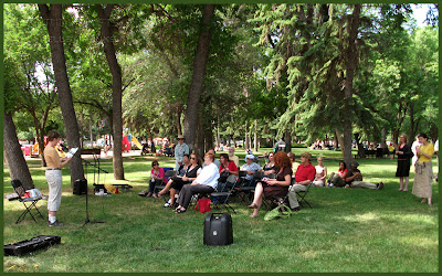Words in the Park, Regina, SK - photo by Shelley Banks
