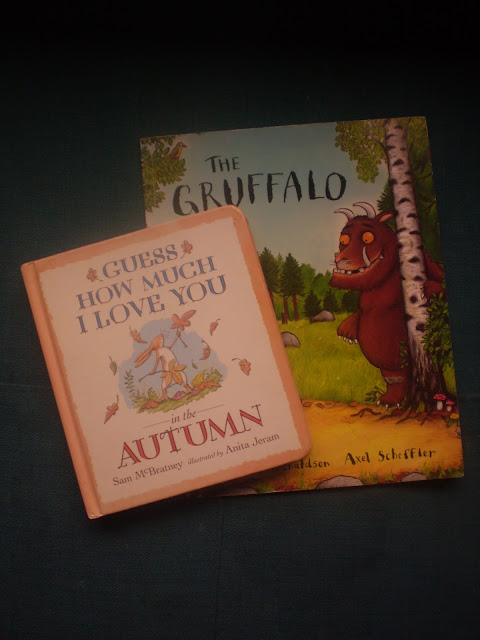 The Gruffalo and Guess How Much I Love You in the Autumn