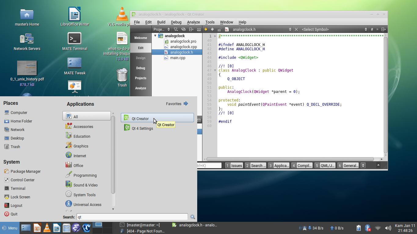 Ubuntu Buzz !: Setup Qt Creator on Trisquel 8 GNU/Linux