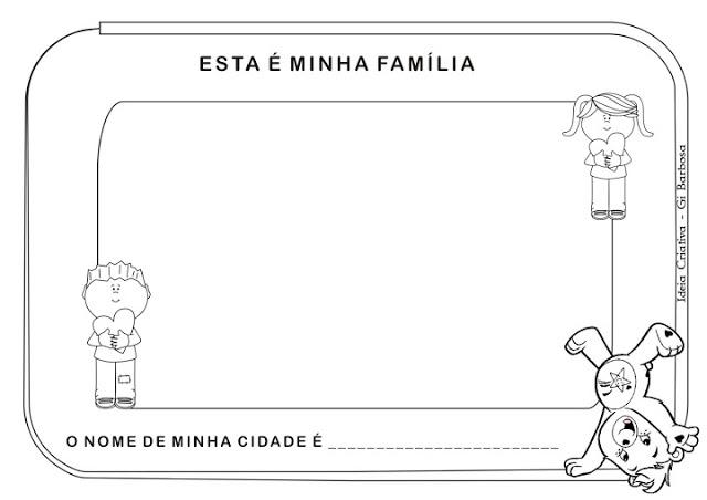 Projeto Identidade e Autonomia Educação Infantil Ideia Criativa