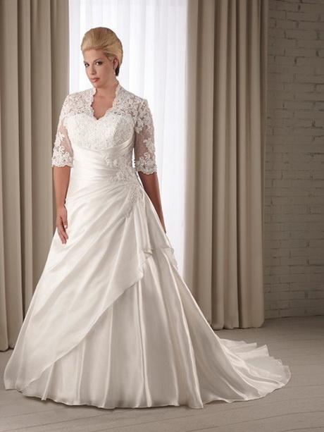 vestido de novia para gorditas sencillos