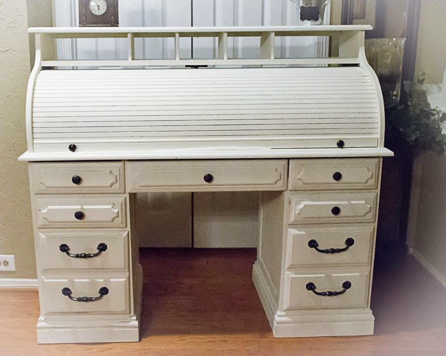 Favorite How Sweet It Is: Trash to Treasure-Roll Top Desk Using Annie Sloan  HX05