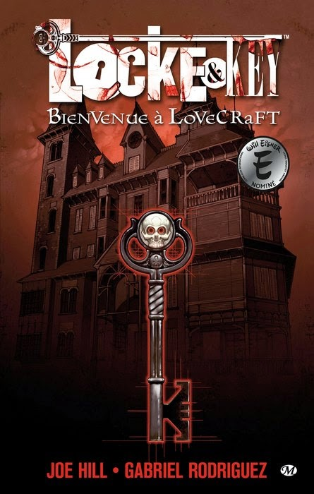 Locke & Key Over-Books