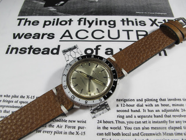 1968 Bulova Accutron Astronaut GMT Electric