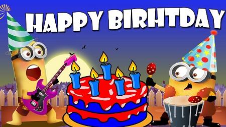 Funny Happy Birthday Cake