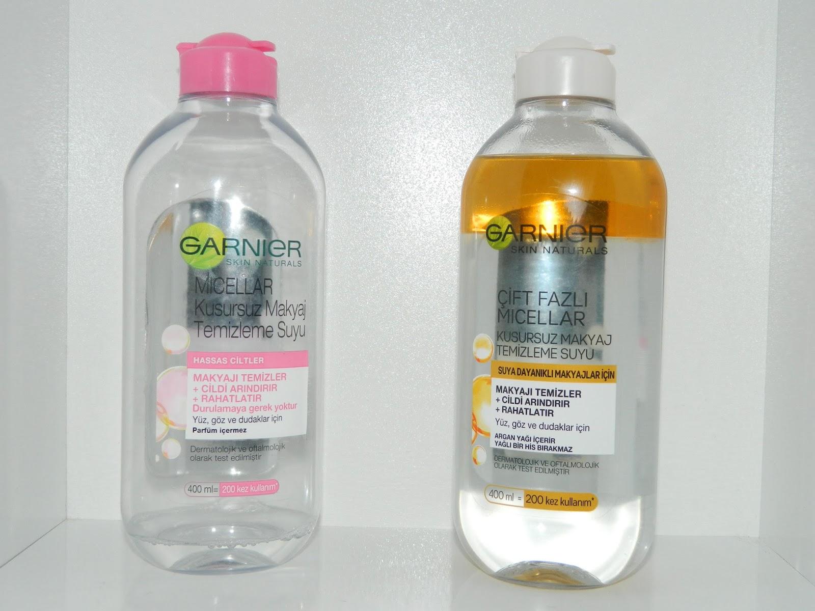 Garnier Makyaj Temizleme Suyu
