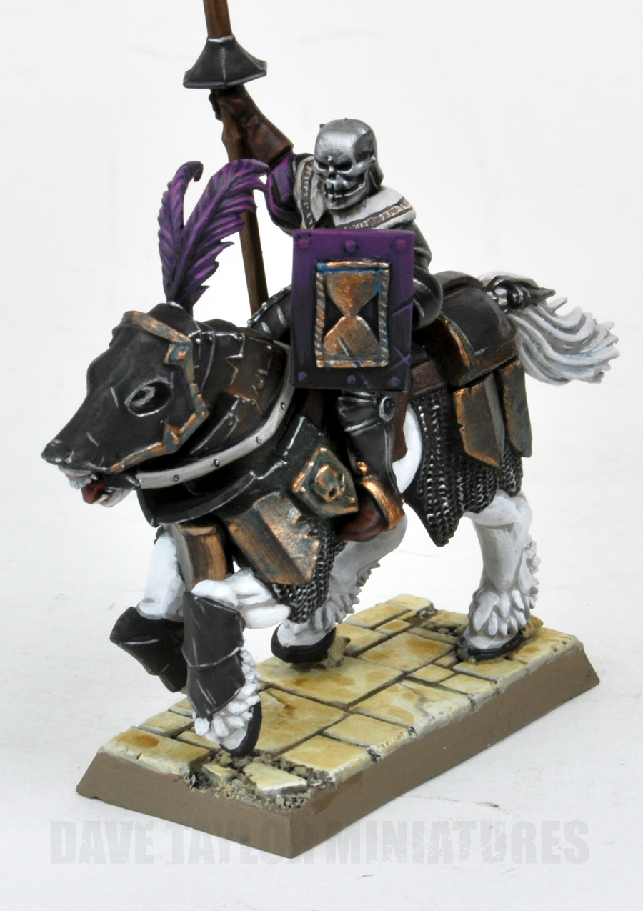 Knight Of Wands As Advice: Davetaylorminiatures: And Back To The Knights Of Morr