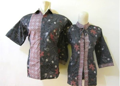 Model Baju Batik Seragam Guru