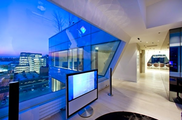 Ultra Modern Apartment In New York City Example Of