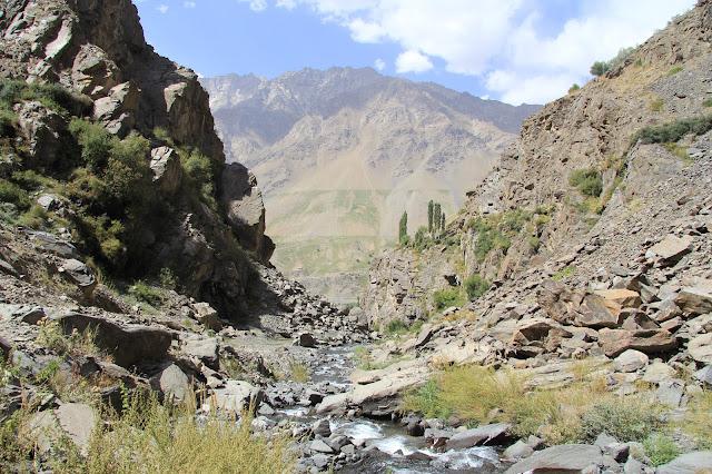 Tadjikistan, Haut-Badakhshan, Pamir, Khorog, Porshinev, © L. Gigout, 2012
