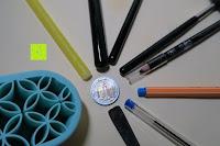Vergleich: Schmink- und Kosmetikpinselhalterung aus Silikon, Halterung für Makeup, Pinsel, zum Trocknen und Halten, Kosmetikartikel, praktisch und schön - turquoise