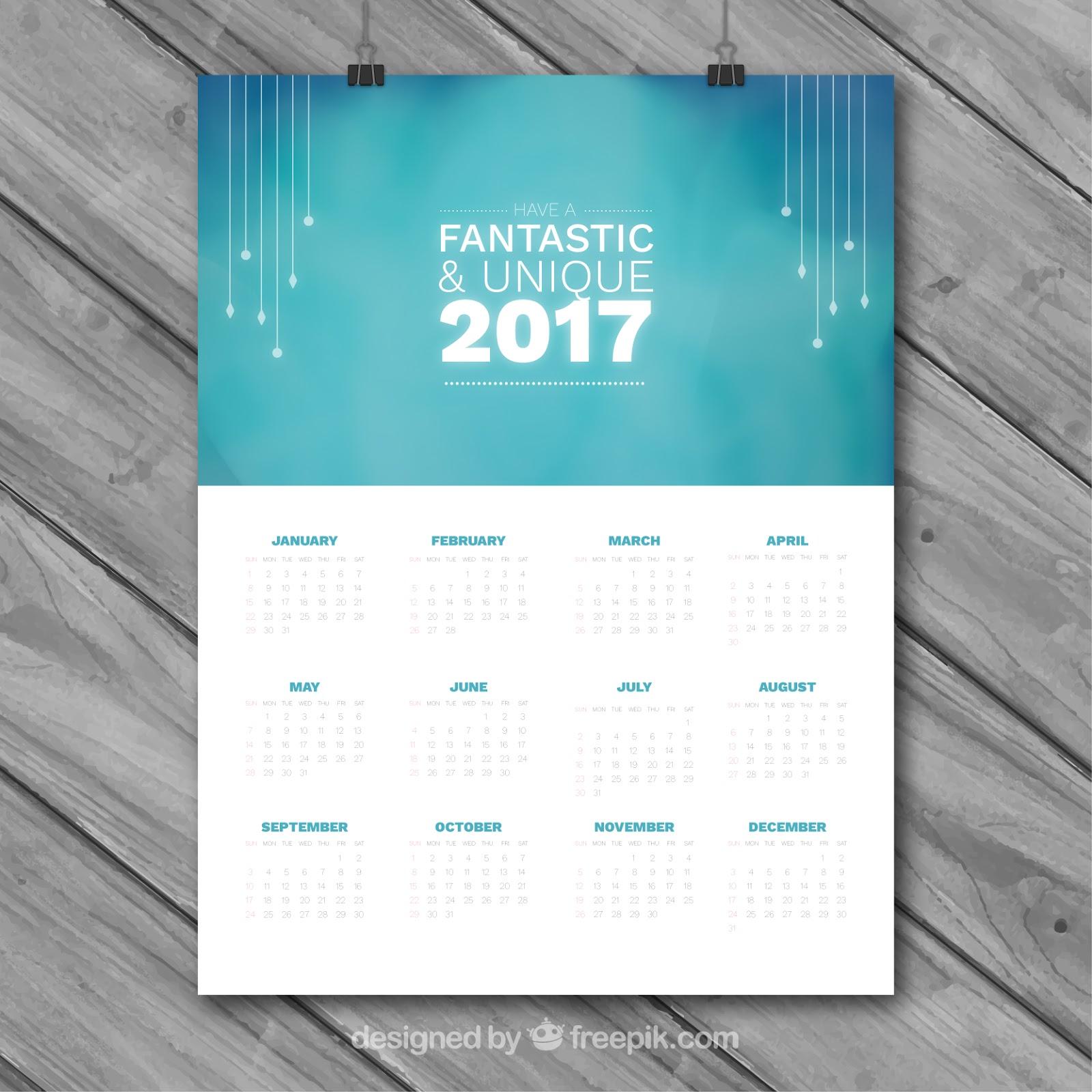 Desain Kalender Organisasi - Template Kalender Dinding ...