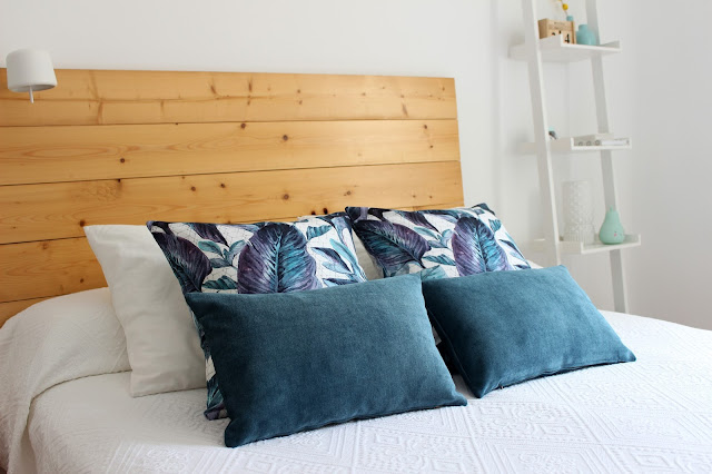 decoracion de dormitorio cojines bonitos
