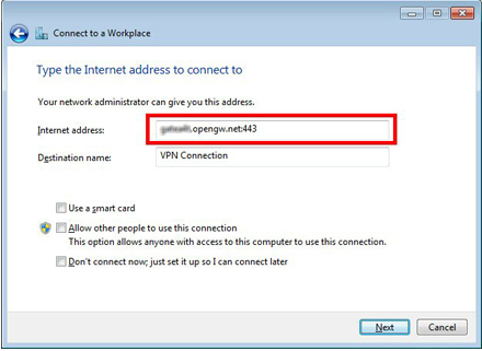 Cara Setting Client VPN PPTP pada Windows 7