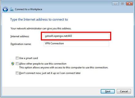 Cara Setting Client VPN PPTP pada Windows 7