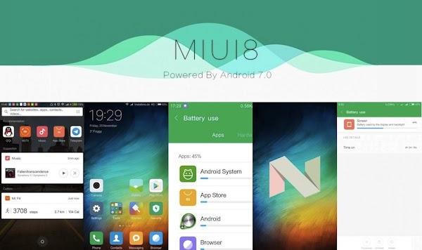 Inilah 4 Smartphone Xiaomi yang akan Dapat Update MIUI 8 Nougat