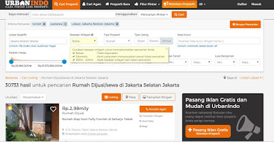 Jual Rumah Jakarta Urbanindo