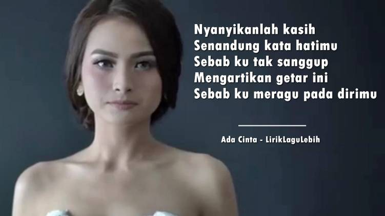 Ada Cinta - Acha Septriasa feat Irwansyah (OST Love Is Cinta)