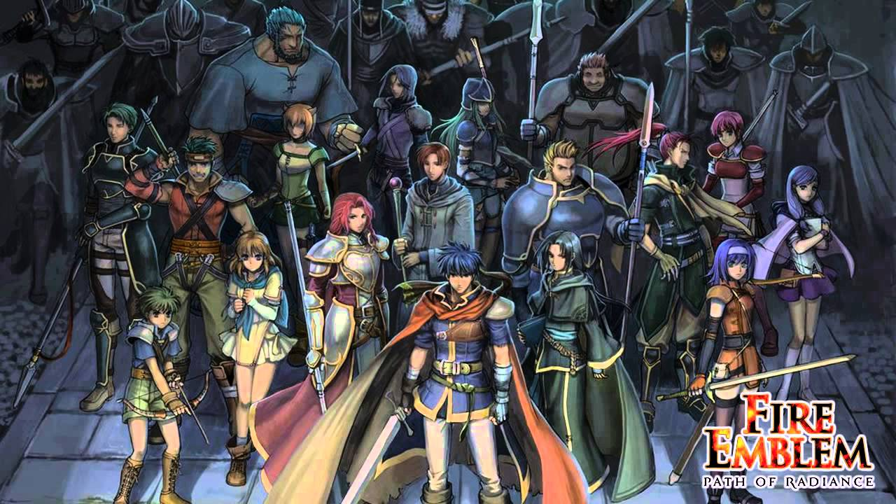 my fire emblem blog fire emblem path of radiance part 2