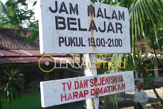 Jam Belajar Masyarakat Dilarang Menonton Televisi