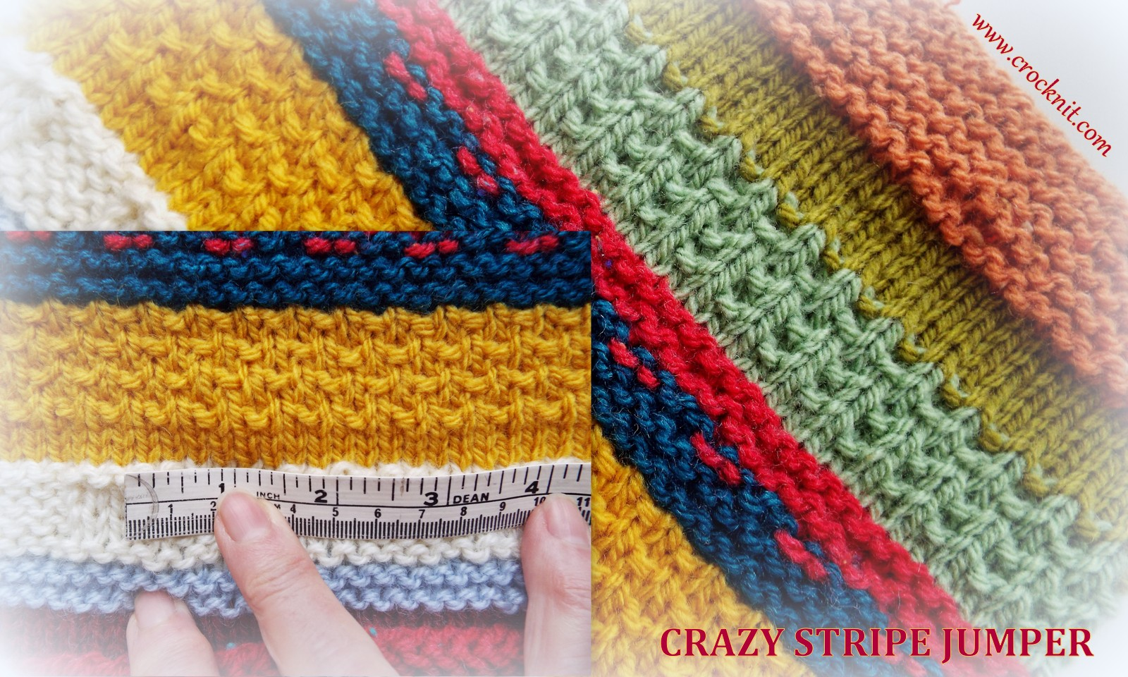 MICROCKNIT CREATIONS: Knit me a CRAZY STRIPE JUMPER