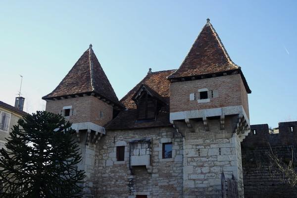 cahors vieille ville barbacane