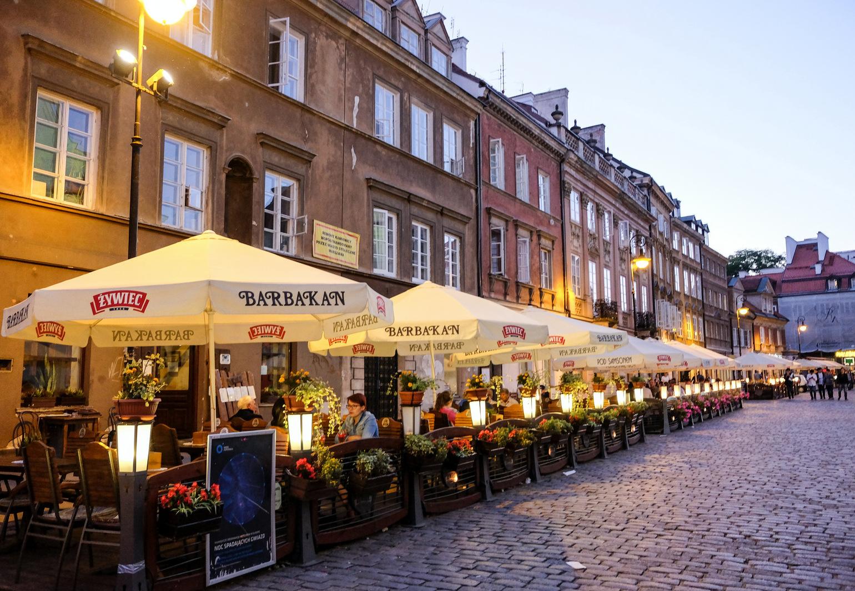 Barbakan, Warsaw, Poland