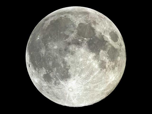 Antiguedad de la Luna