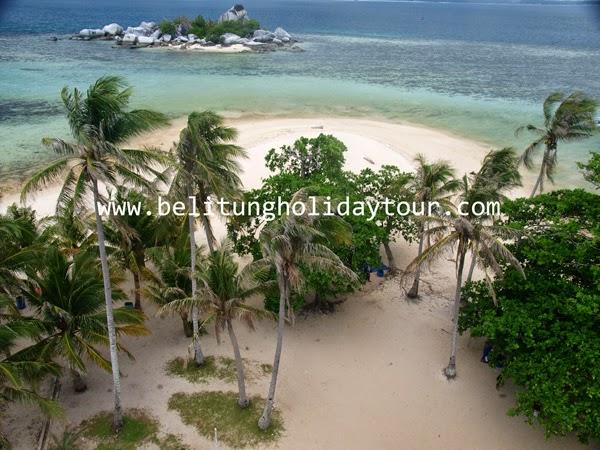 Wisata lengkuas Pulau Belitung
