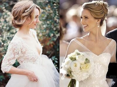 Brautfrisuren für hellblonde Haare 2018 8