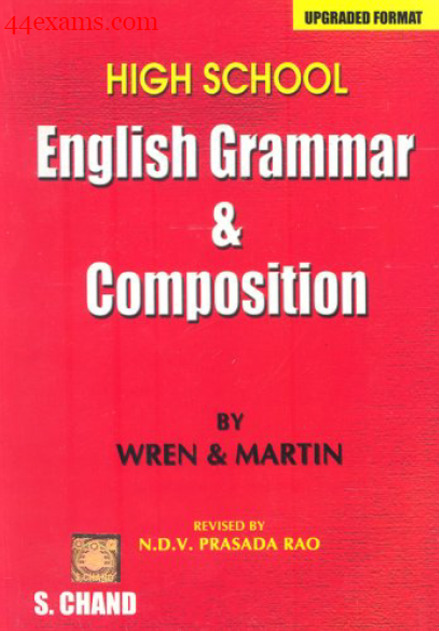 English-Grammar-and-Composition-By-Wren-&-Martin-For-All-Competitive-Exam-PDF-Book