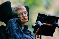 In this June 19, 2006 file photo Astrophysicist Stephen Hawking speaks at an international gathering of scientists on the origins of the universe at Beijing's Great Hall of the People in China. (Photo Credit: AP/Elizabeth Dalziel-File) Click to Enlarge.