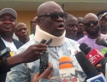 Police Helicopter Threatening My Life - Fayose