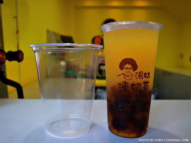 IMG 4164 - 台中龍井│湯姑凍奶茶。親切爆炸頭阿姑的獨家特調。除了茶凍還有外面都喝不到的黑糖凍