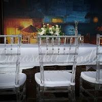 sewa tiffany acrylic, sewa kursi tiffany acrylic, sewa tiffany transparan, sewa tiffany acrylic murah