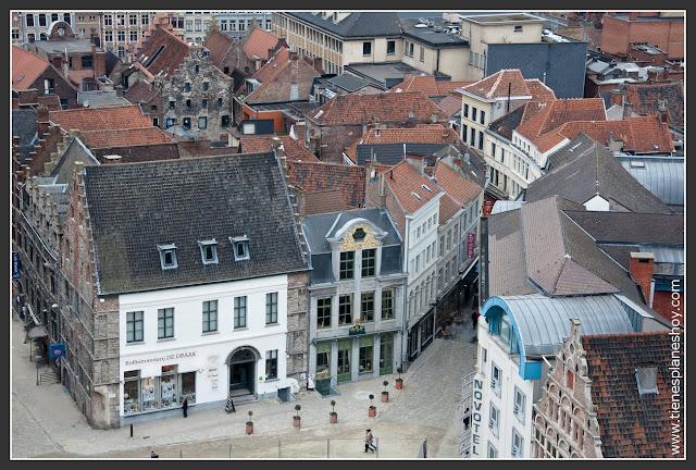 Vistas Gante desde Torre Belfort