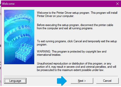 Proses install lanjut