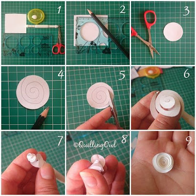 how to do quilling art at home