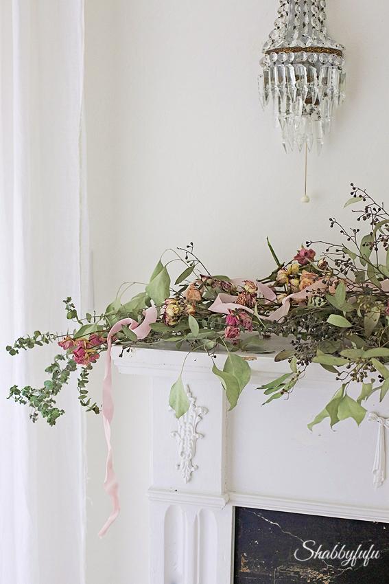 floral garland diy